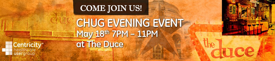 CHUG Evening Event @ The Duce!