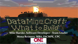 Data Mine Craft What to Build