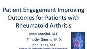 Patient Engagement Improving Outcomes for Patients with RA