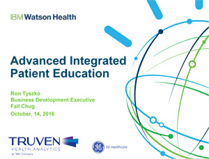 Truven Health's Advanced Patient Education Integration offering