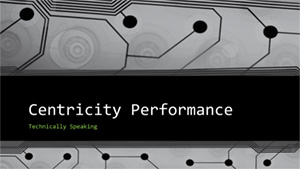ITA Centricity Performance - Technically Speaking