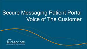 Centricity Patient Portal Voice of the Customer