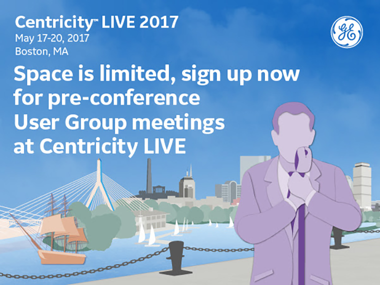 Space is limited, sign up now for pre-conference User Group meetings at Centricity LIVE