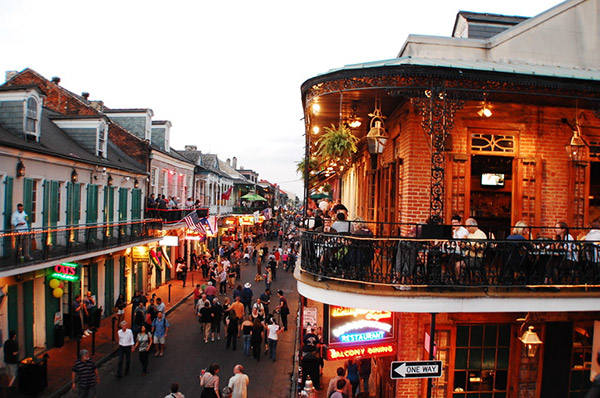 Explore Bourbon Street at CHUG Fall 2017